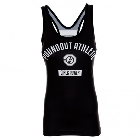 Poundout Tank Top Damski Athletic 1