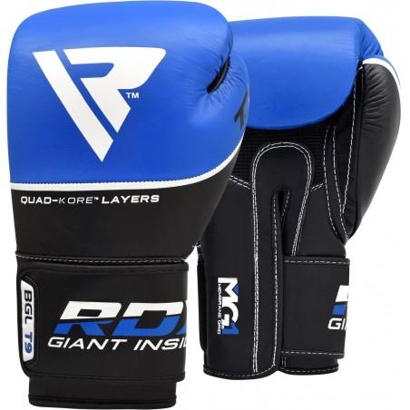 RDX Rękawice bokserskie T9 Niebieskie 1