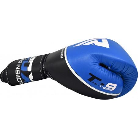 RDX Rękawice bokserskie T9 Niebieskie 4