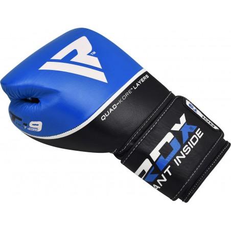 RDX Rękawice bokserskie T9 Niebieskie 5