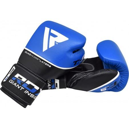 RDX Rękawice bokserskie T9 Niebieskie 6