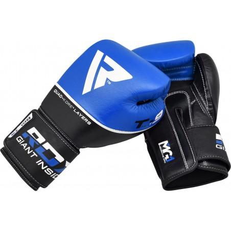 RDX Rękawice bokserskie T9 Niebieskie 7