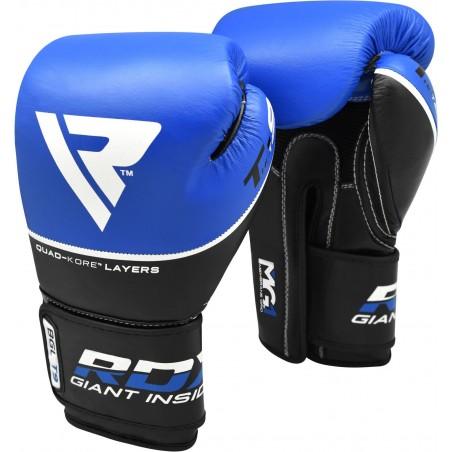 RDX Rękawice bokserskie T9 Niebieskie 8