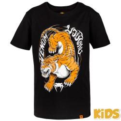 Venum T-Shirt Dziecięcy Tiger King Czarny 1