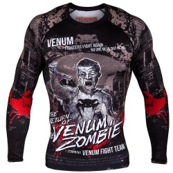 Venum Rashguard Zombie Return Długi Rękaw Czarny 1