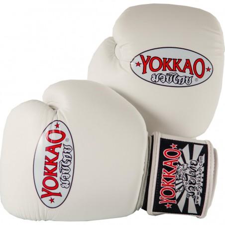 Yokkao Rękawice bokserskie Matrix Białe 1