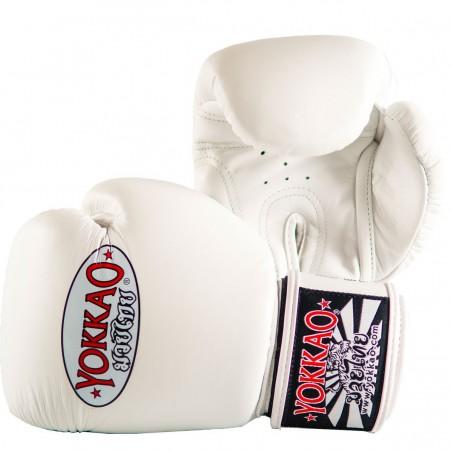 Yokkao Rękawice bokserskie Matrix Białe 2