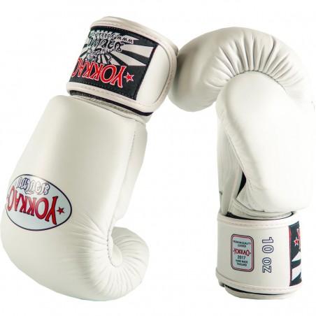 Yokkao Rękawice bokserskie Matrix Białe 3