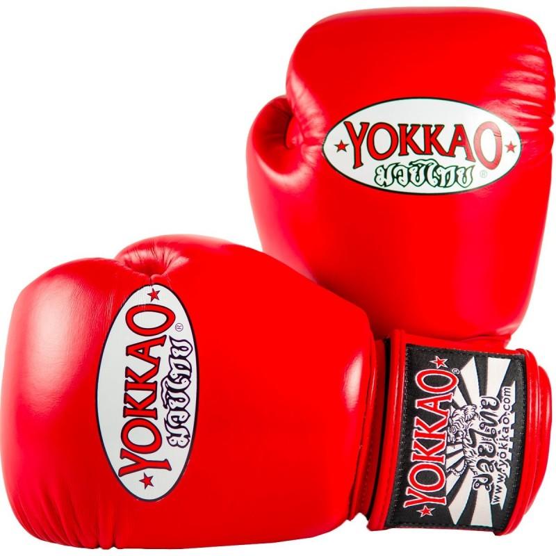 Yokkao Rękawice bokserskie Matrix Czerwone