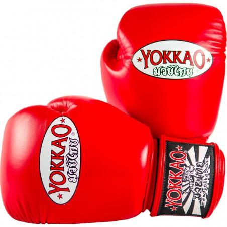 Yokkao Rękawice bokserskie Matrix Czerwone 1