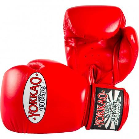 Yokkao Rękawice bokserskie Matrix Czerwone 2