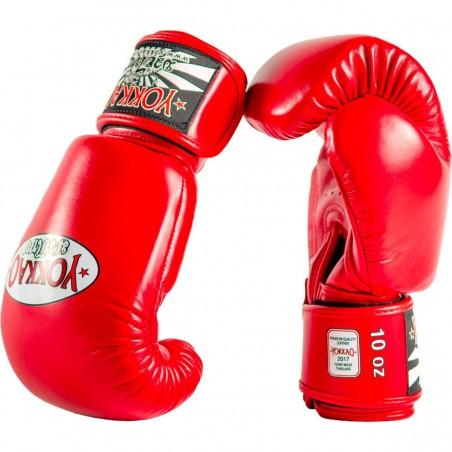 Yokkao Rękawice bokserskie Matrix Czerwone 3