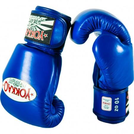 Yokkao Rękawice bokserskie Matrix Niebieskie 3