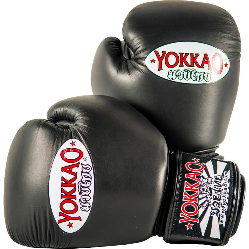 Yokkao Rękawice bokserskie Matrix Czarne