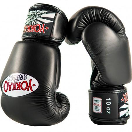 Yokkao Rękawice bokserskie Matrix Czarne 3