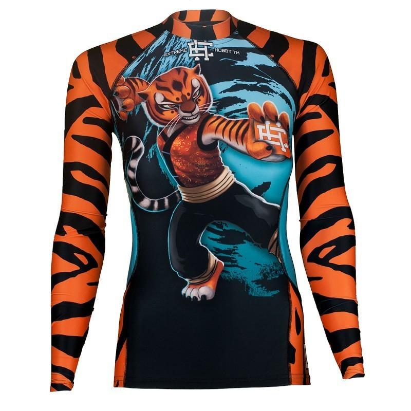 Extreme Hobby Rashguard Damski Tigress Długi Rękaw