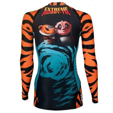 Extreme Hobby Rashguard Damski Tigress Długi Rękaw 2