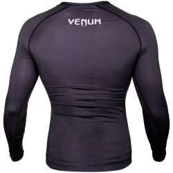 Venum Rashguard Contender 3.0 Długi Rękaw Czarny/Biały 1