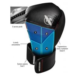 Hayabusa Rękawice bokserskie T3 Czarne/Niebieskie 1