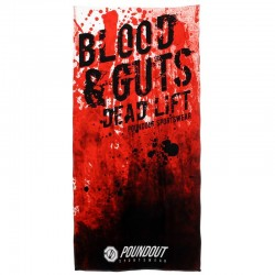 Poundout Ręcznik frotte Blod&Guts 1