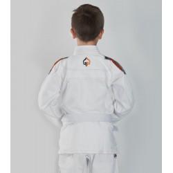 Ground Game Kimono/Gi do BJJ dla Dzieci Tensai Białe 1