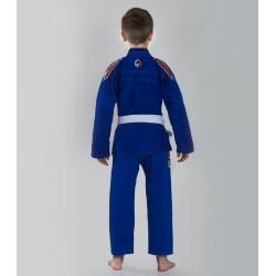 Ground Game Kimono/Gi do BJJ dla Dzieci Tensai Niebieskie 1