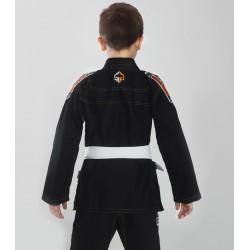 Ground Game Kimono/Gi do BJJ dla Dzieci Tensai Czarne 1