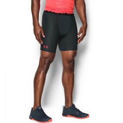 Under Armour Heatgear Armour 2.0 Compression Short Czarne/Czerwone 1