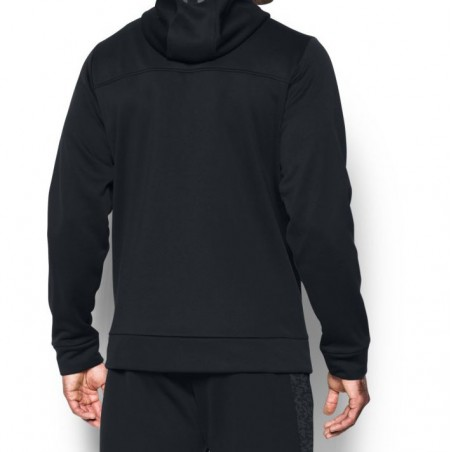 Under Armour Bluza z kapturem AF Full Zip Czarna 2