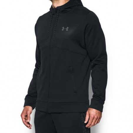 Under Armour Bluza z kapturem AF Full Zip Czarna 3