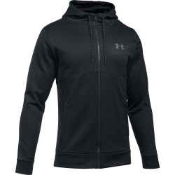 Under Armour Bluza z kapturem AF Full Zip Czarna 1