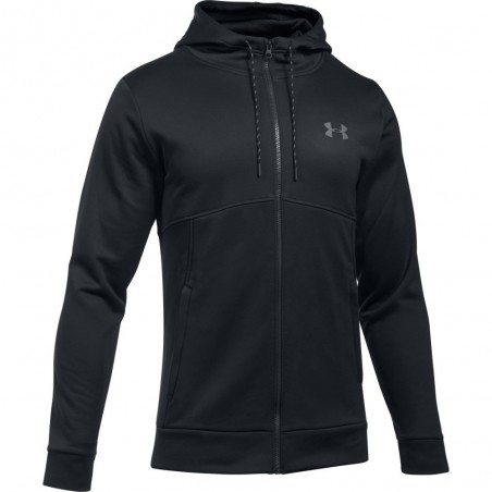 Under Armour Bluza z kapturem AF Full Zip Czarna 5