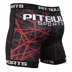 Pit Bull Szorty VT Ray Czerwone 1