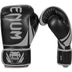 Venum Rękawice bokserskie Challenger 2.0 Czarne/Szare 1