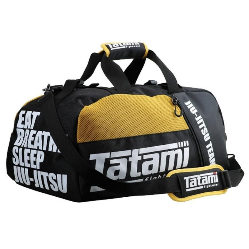 Tatami Torba sportowa BJJ Czarna/Żółta