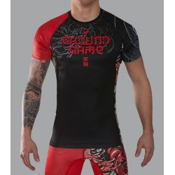 Ground Game Rashguard Tengu Krótki Rękaw 1