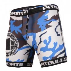 Pit Bull Szorty VT Camo Niebieskie 1