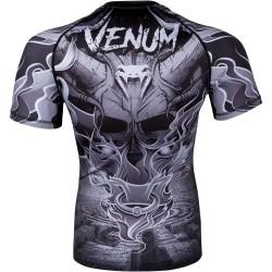 Venum Rashguard Minotaurus Krótki Rękaw Czarny 1
