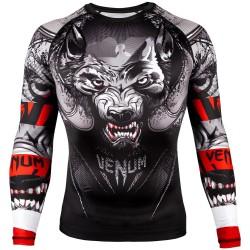 Venum Rashguard Werewolf Długi Rękaw Czarny 1