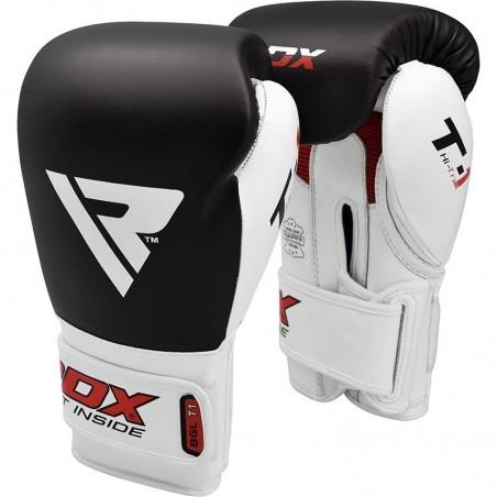 RDX Rękawice bokserskie BGL-T1 Gel Pro Czarne 5