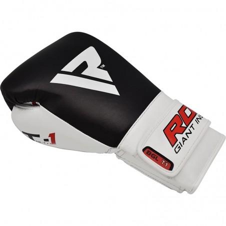 RDX Rękawice bokserskie BGL-T1 Gel Pro Czarne 6
