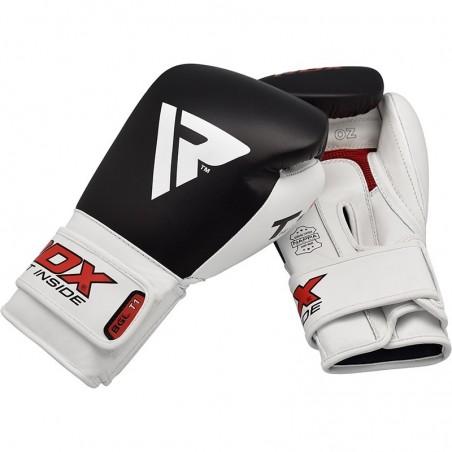 RDX Rękawice bokserskie BGL-T1 Gel Pro Czarne 7
