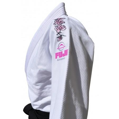 Fuji Kimono/Gi do BJJ Damskie Blossom Białe 3