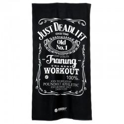 Poundout Ręcznik na siłownię frotte Just Deadlift 1
