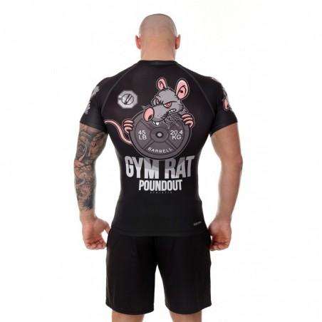 Poundout Rashguard Gym Rat 1