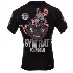 Poundout Rashguard Gym Rat