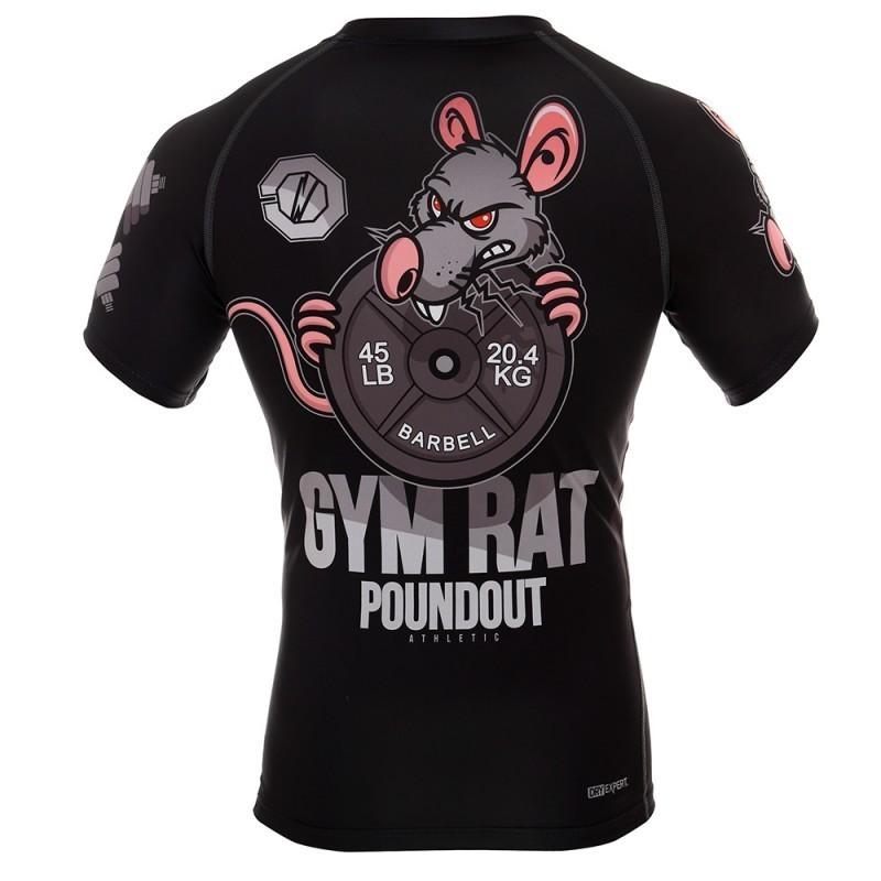 Poundout Rashguard Gym Rat