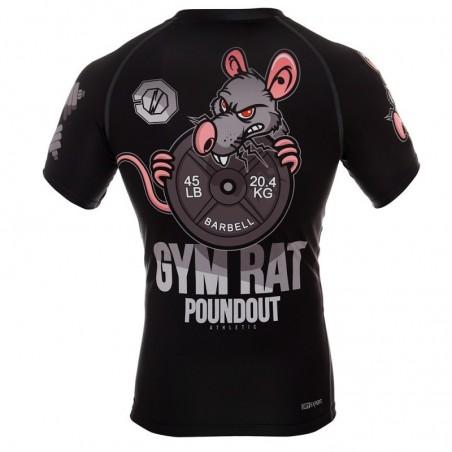 Poundout Rashguard Gym Rat 4