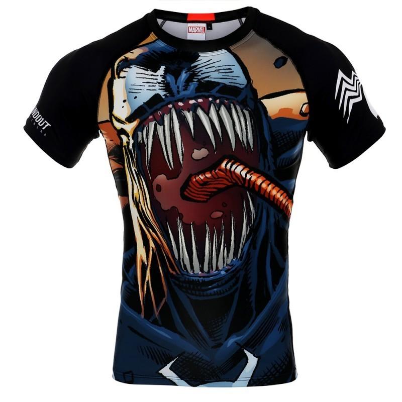 Poundout Rashguard Marvel Venom 2.0