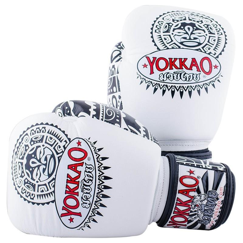 Yokkao Rękawice bokserskie Maui Białe